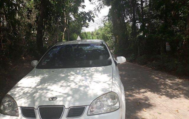 Cần bán lại xe Daewoo Lacetti 2005, màu trắng, nhập khẩu nguyên chiếc, giá chỉ 130 triệu1