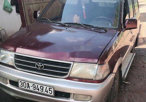 Bán xe Toyota Zace đời 2004, màu đỏ0