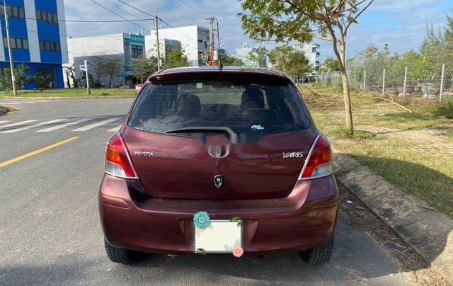 Bán Toyota Yaris năm sản xuất 2009, màu đỏ, nhập khẩu nguyên chiếc  2