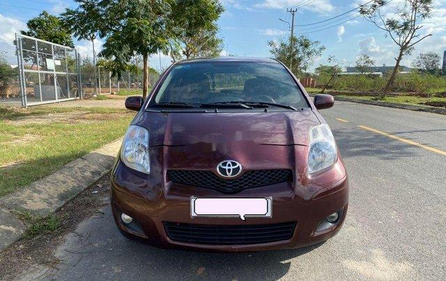Bán Toyota Yaris năm sản xuất 2009, màu đỏ, nhập khẩu nguyên chiếc  0
