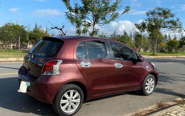 Bán Toyota Yaris năm sản xuất 2009, màu đỏ, nhập khẩu nguyên chiếc  3