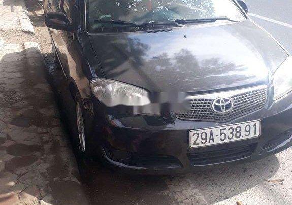 Bán xe Toyota Vios đời 2005, màu đen1