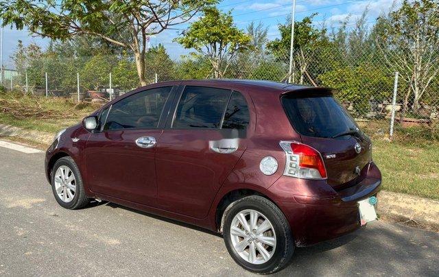 Bán Toyota Yaris năm sản xuất 2009, màu đỏ, nhập khẩu nguyên chiếc  4