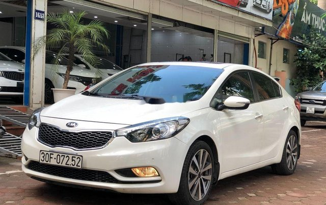 Bán ô tô Kia K3 2014, màu trắng, biển HN1