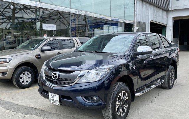 Bán Mazda BT 50 sản xuất 2017, màu đen số tự động, giá chỉ 525 triệu2