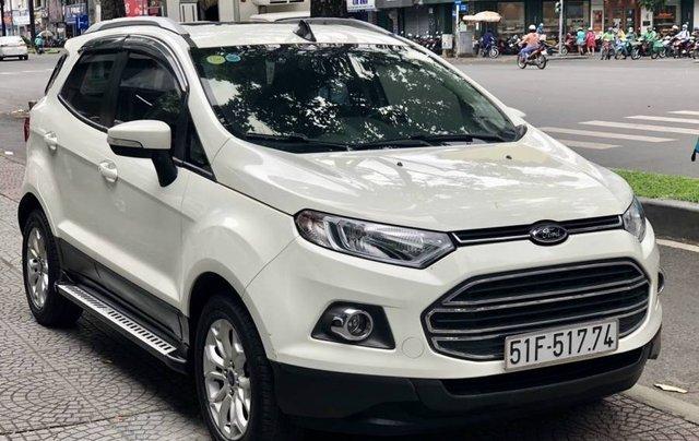 Cần bán Ford EcoSport năm 2015, màu trắng còn mới, giá tốt2