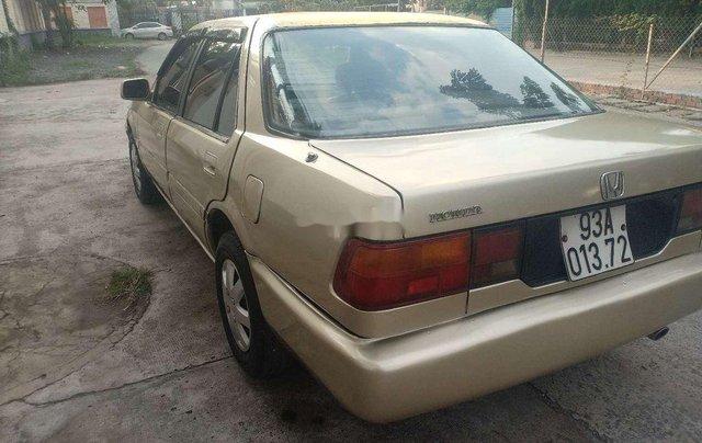 Bán ô tô Honda Accord năm sản xuất 1990, màu xám, nhập khẩu, giá 48tr4