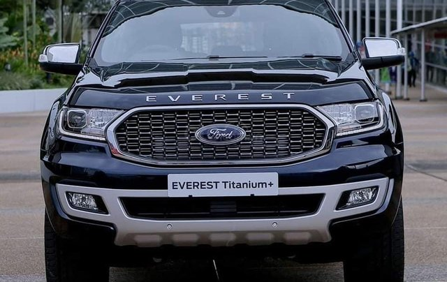 Ford Everest Titanium Biturbo New 2021, cập bến0