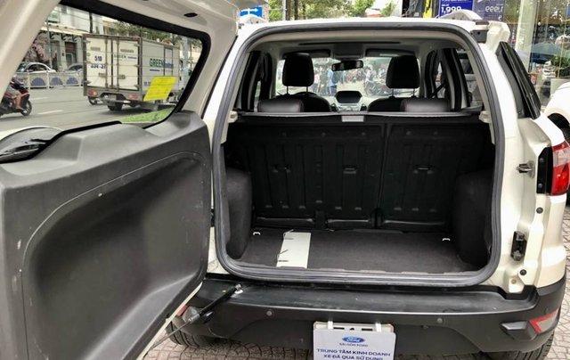 Cần bán Ford EcoSport năm 2015, màu trắng còn mới, giá tốt10