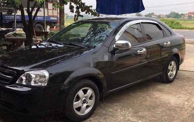 Bán Chevrolet Lacetti năm sản xuất 2010, màu đen, 169tr1
