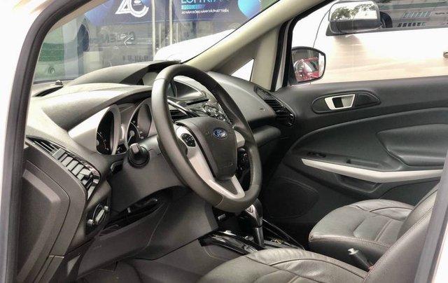 Cần bán Ford EcoSport năm 2015, màu trắng còn mới, giá tốt8