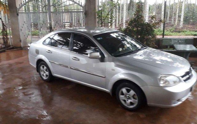 Cần bán gấp Daewoo Lacetti đời 2009, màu bạc, nhập khẩu nguyên chiếc 1