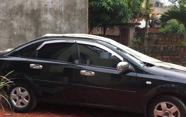 Bán Chevrolet Lacetti năm sản xuất 2010, màu đen, 169tr0