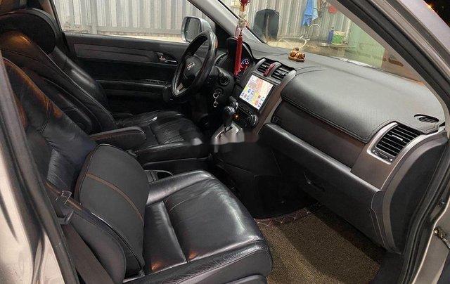 Bán Honda CR V năm 2009, màu xám, nhập khẩu nguyên chiếc4