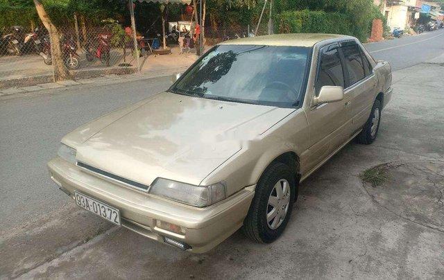 Bán ô tô Honda Accord năm sản xuất 1990, màu xám, nhập khẩu, giá 48tr1