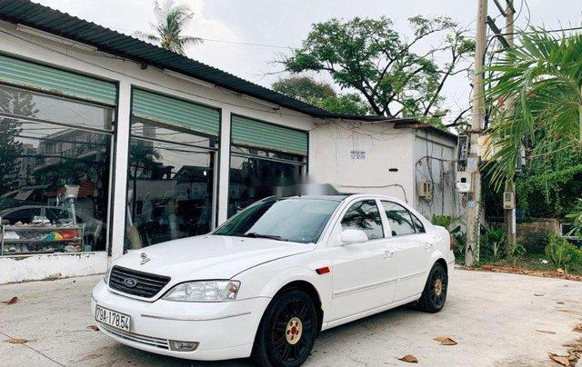 Cần bán gấp Ford Mondeo 2003, màu trắng0