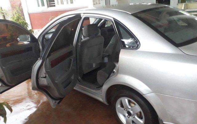 Cần bán gấp Daewoo Lacetti đời 2009, màu bạc, nhập khẩu nguyên chiếc 7