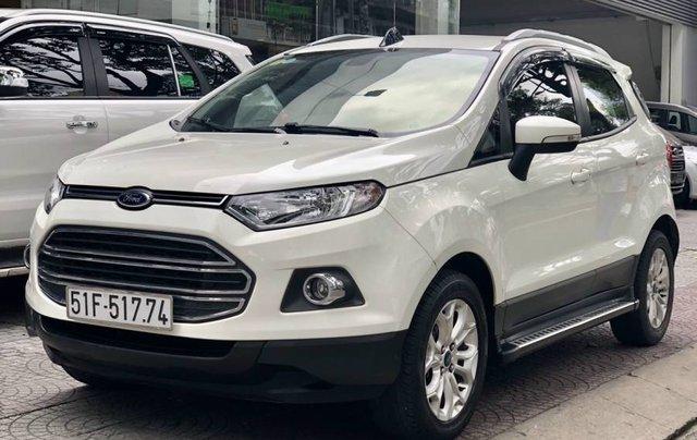 Cần bán Ford EcoSport năm 2015, màu trắng còn mới, giá tốt0
