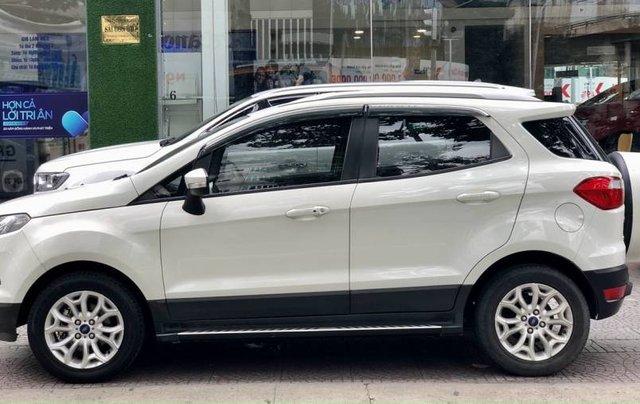 Cần bán Ford EcoSport năm 2015, màu trắng còn mới, giá tốt4