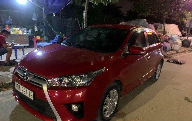 Cần bán gấp Toyota Yaris sản xuất 2017, xe nhập0