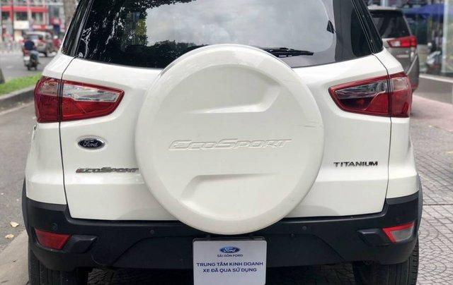 Cần bán Ford EcoSport năm 2015, màu trắng còn mới, giá tốt3