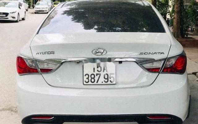 Cần bán Hyundai Sonata đời 2010, màu trắng, xe nhập0