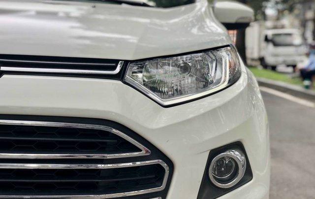 Cần bán Ford EcoSport năm 2015, màu trắng còn mới, giá tốt5