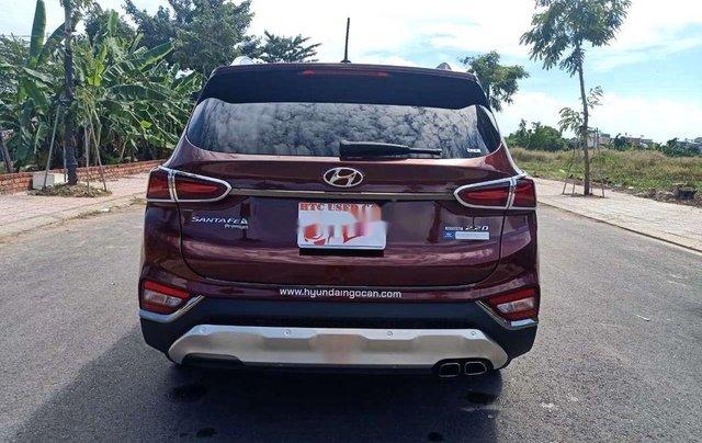 Bán Hyundai Santa Fe sản xuất năm 2020, màu đỏ4