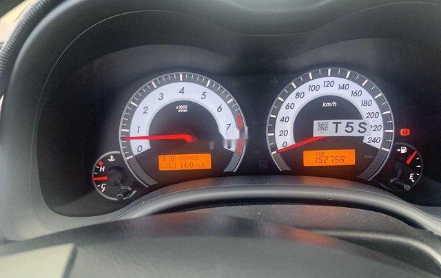 Bán ô tô Toyota Corolla Altis 1.8G đời 2011, màu đen số sàn6