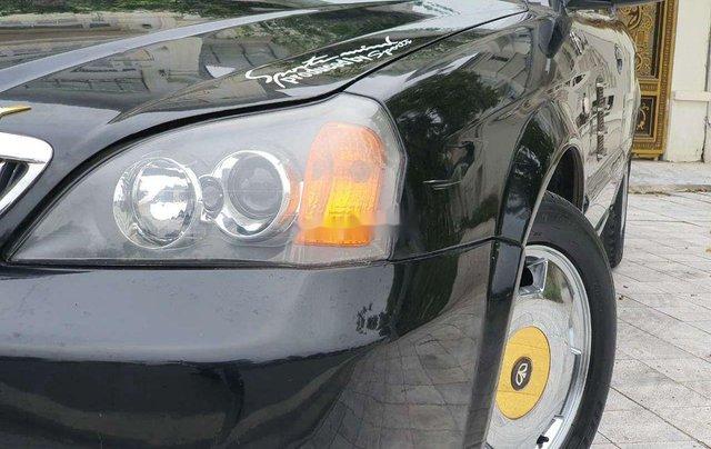 Bán Daewoo Magnus sản xuất năm 2007, màu đen, xe nhập chính chủ6