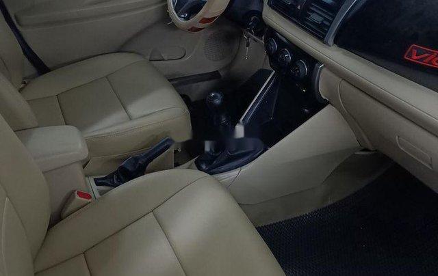 Xe Toyota Vios 2018, màu trắng số sàn4