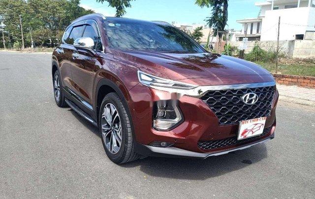 Bán Hyundai Santa Fe sản xuất năm 2020, màu đỏ1