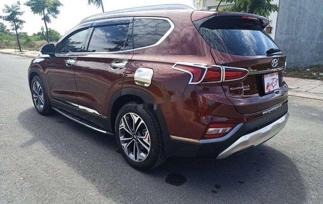 Bán Hyundai Santa Fe sản xuất năm 2020, màu đỏ2