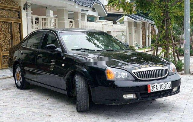 Bán Daewoo Magnus sản xuất năm 2007, màu đen, xe nhập chính chủ4