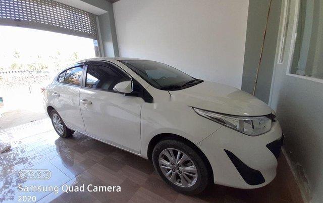Bán ô tô Toyota Vios đời 2020, màu trắng số tự động2
