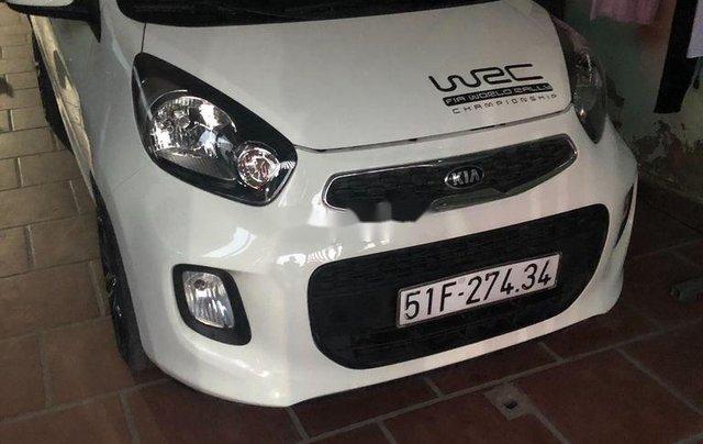 Cần bán xe Kia Morning sản xuất năm 2015, màu trắng chính chủ 2
