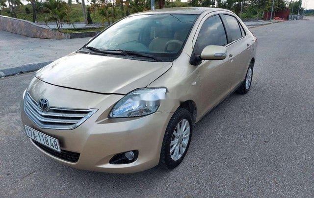 Cần bán gấp Toyota Vios năm sản xuất 2010, màu vàng, 185tr0