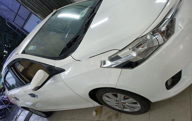 Xe Toyota Vios 2018, màu trắng số sàn2