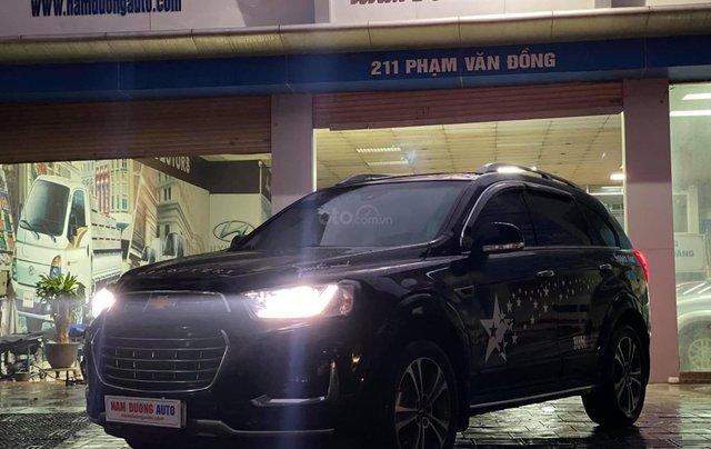 Cần bán xe Chevrolet Captiva Revv 2018, đi 24 000 km , màu đen0