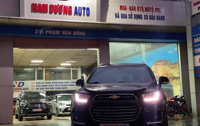 Cần bán xe Chevrolet Captiva Revv 2018, đi 24 000 km , màu đen1