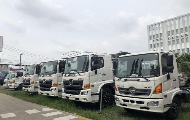 Xe tải Hino FG 8 tấn thùng dài 7m4 trả trước 200tr chìa khóa trao tay10
