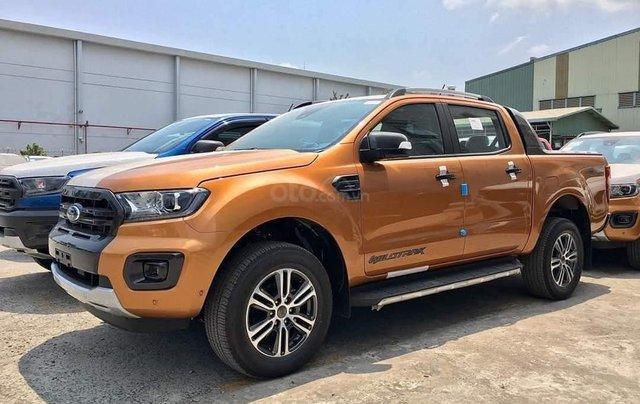 Ford Ranger Wildtrak 2020 còn 3 xe cam giao ngay, liên hệ Cát1