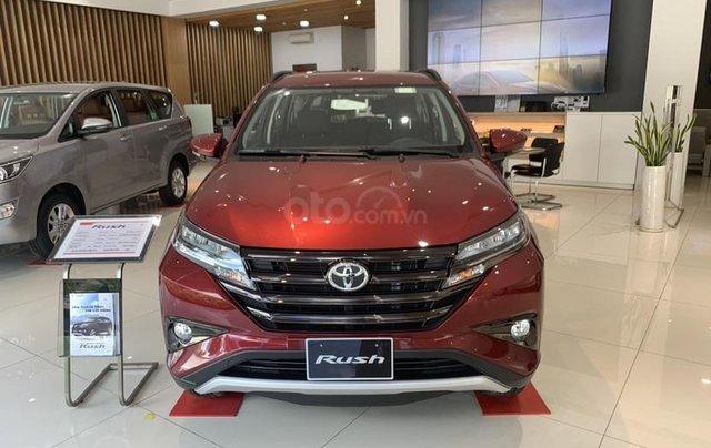 Toyota Rush 2020 - giảm giá sâu kèm nhiều PK chính hãng, tặng 2 năm bảo hiểm - giao xe ngay0