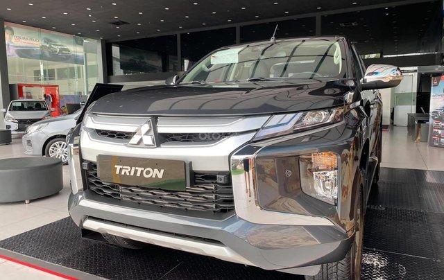 Mitsubishi Triton 2020 - hỗ trợ trả góp tới 85%, giảm 50% trước bạ, ưu đãi ngập tràn0