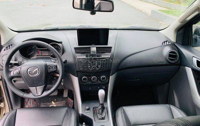 Cần bán xe Mazda BT 50 đời 2014, màu vàng2