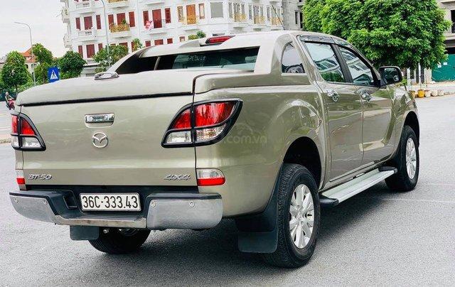 Cần bán xe Mazda BT 50 đời 2014, màu vàng1