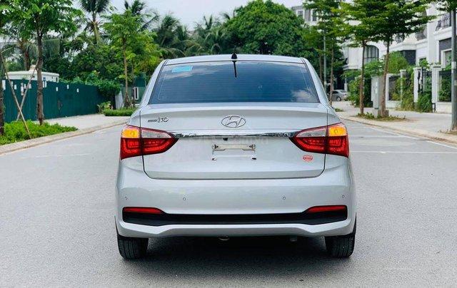 Xe Hyundai Grand i10 sản xuất 2019, màu bạc3