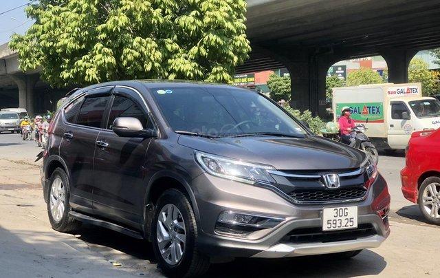 Bán gấp Honda CRV 2.0 2017, xe rất chất, LH có giá cực tốt1