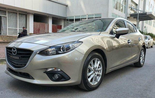 Chính chủ bán xe Mazda 3 sản xuất năm 2016 nguyên bản, siêu mới, chạy 60.000km0