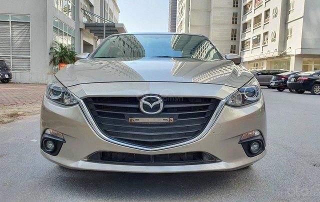 Chính chủ bán xe Mazda 3 sản xuất năm 2016 nguyên bản, siêu mới, chạy 60.000km1